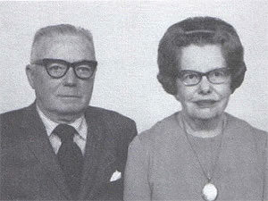 Clarence and Martha Branaman